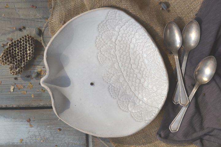 Lace Dessert Plate