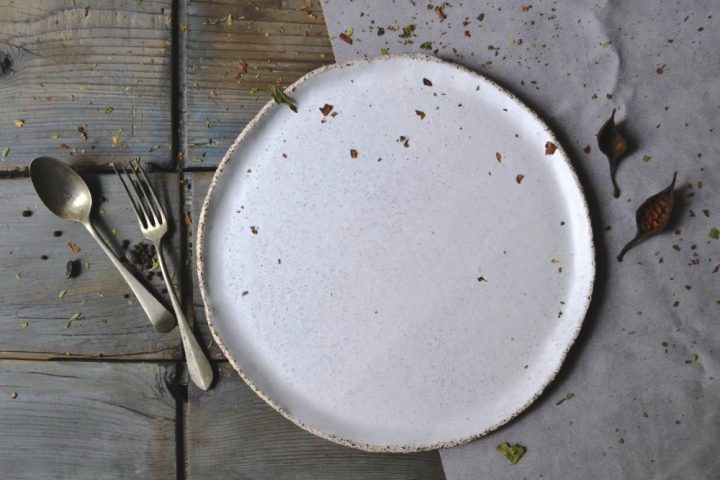 Gritty Dinner Plate 'L'