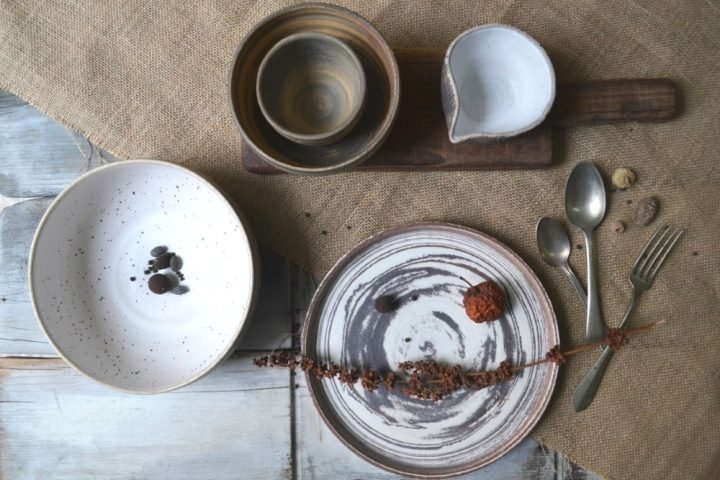 Mixed Clay Plate