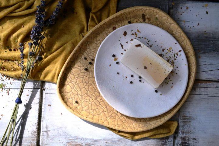 Linen Plate ceramic