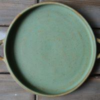 Handle Plate 'M' ceramic