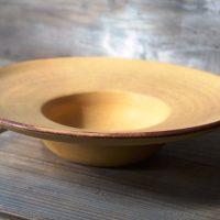 Hat Plate Mustard Yellow ceramic