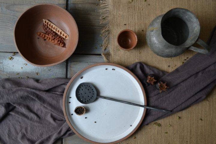 Red Clay Bowl ceramic