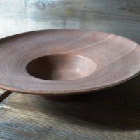 Hat Plate Brown ceramic