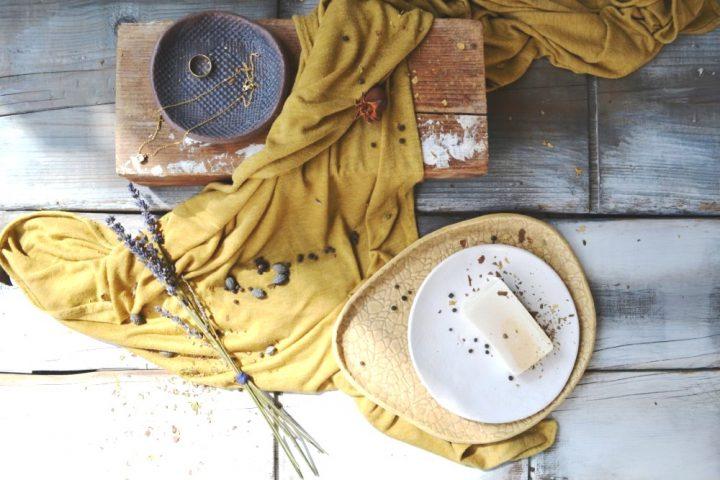 Shallow Bowl Black Patina ceramic