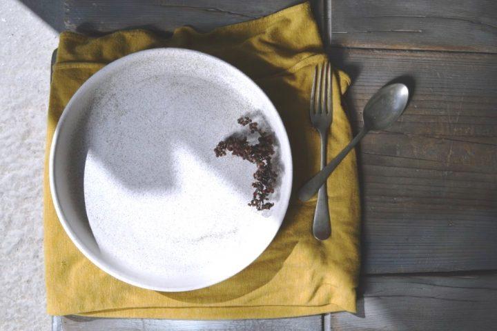 Dinner Plate White Stigmas