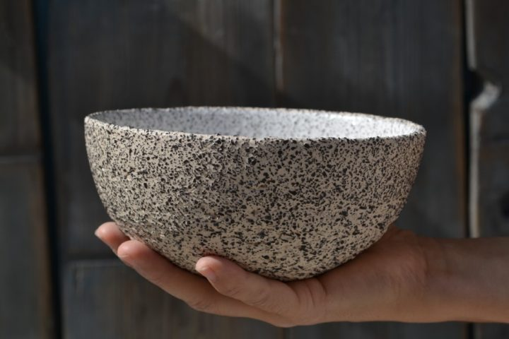 Gritty Salad Bowl ceramic Big
