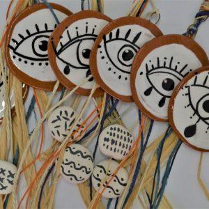 Boho Eye ceramic