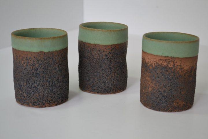 Sponge Tumbler Sumatra Green ceramic