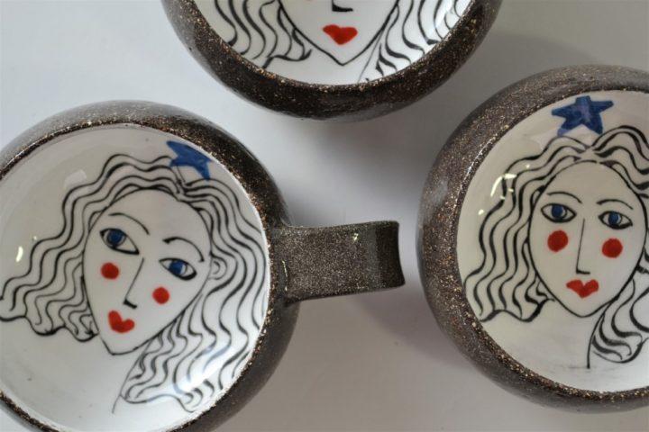 Girl ceramic