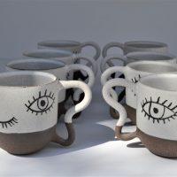 Eyes Mug ceramic