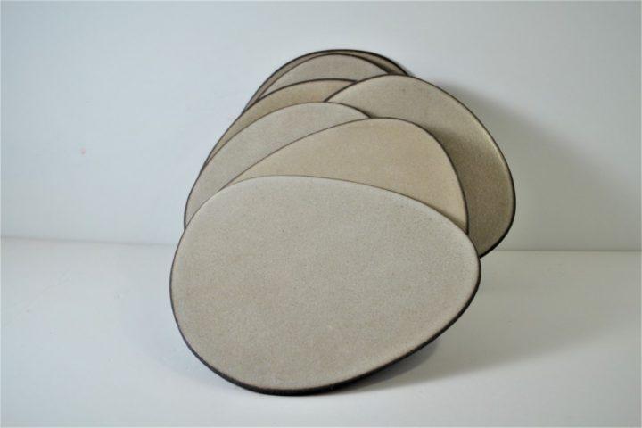 Ice Slab Plate ceramic