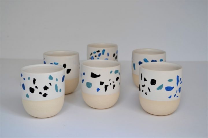 Terrazzo Cup ceramic