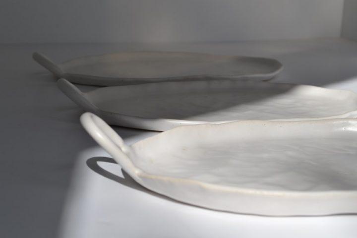 One Handle Tray ceramic
