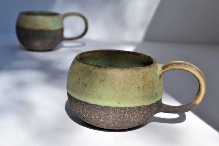 Round Cup Sumatra Green ceramic
