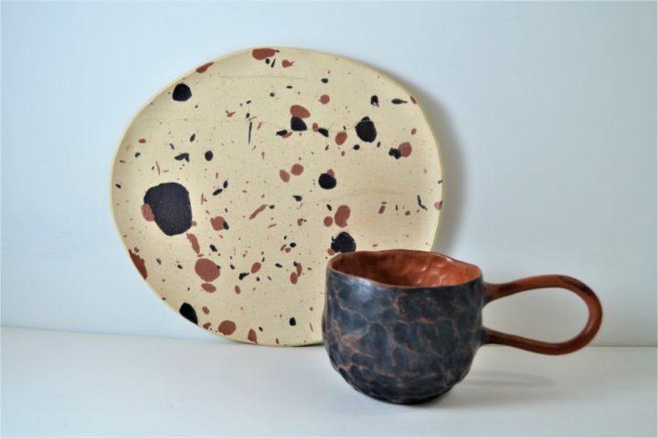 Terrazzo Plate ceramic