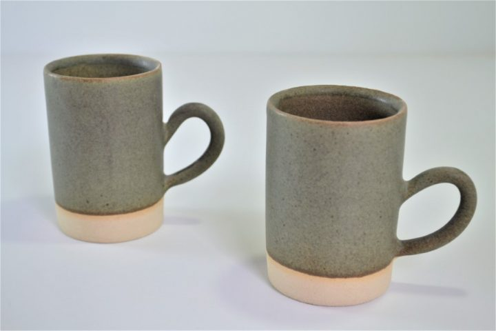 Tube Cup Khaki ceramic
