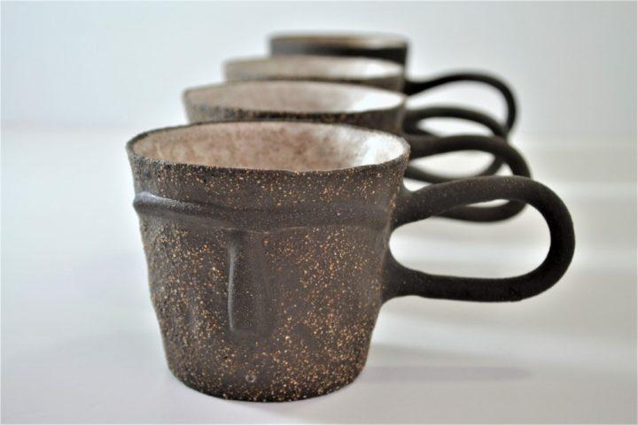 Face Mug Ice ceramic