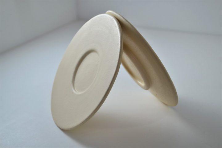 Saucer ceramic