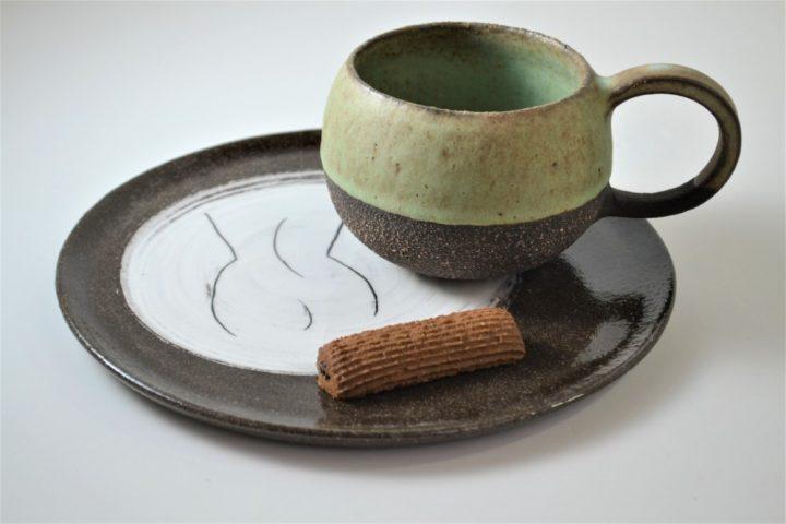 Round Cup Ice ceramic